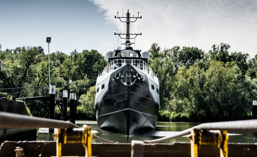 DAMEN launches the first 46m YS 4508 'JOY RIDER'