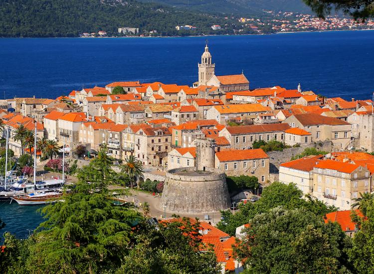 Croatian island – Korčula