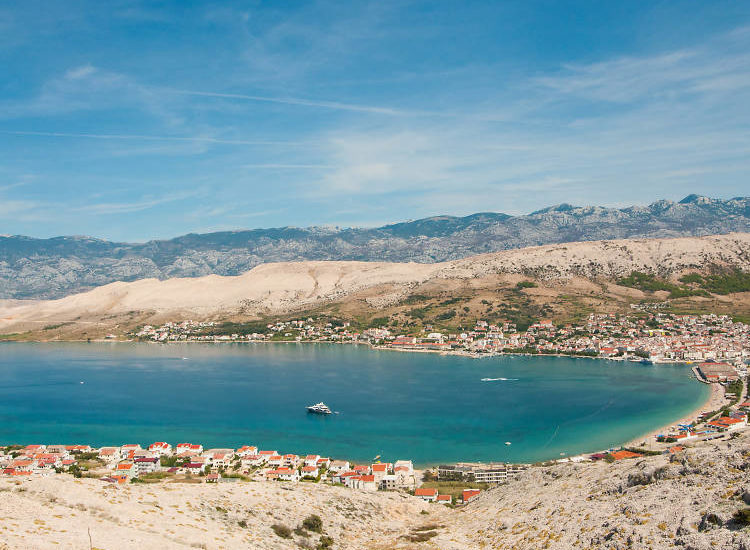 Croatian island – Pag